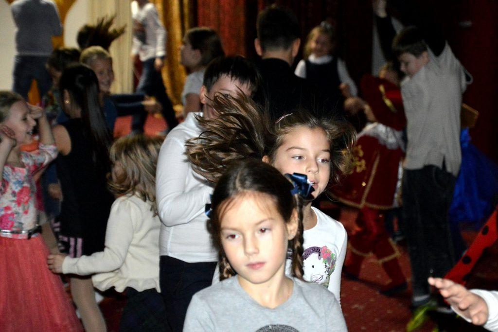 Дискотека в начальной школе.  17.11.2017
